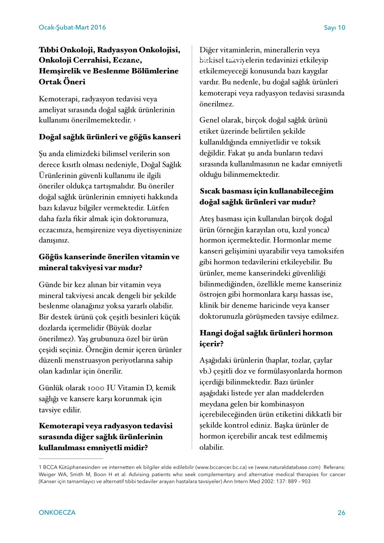 ONKOECZADERGIsayı10 26-26
